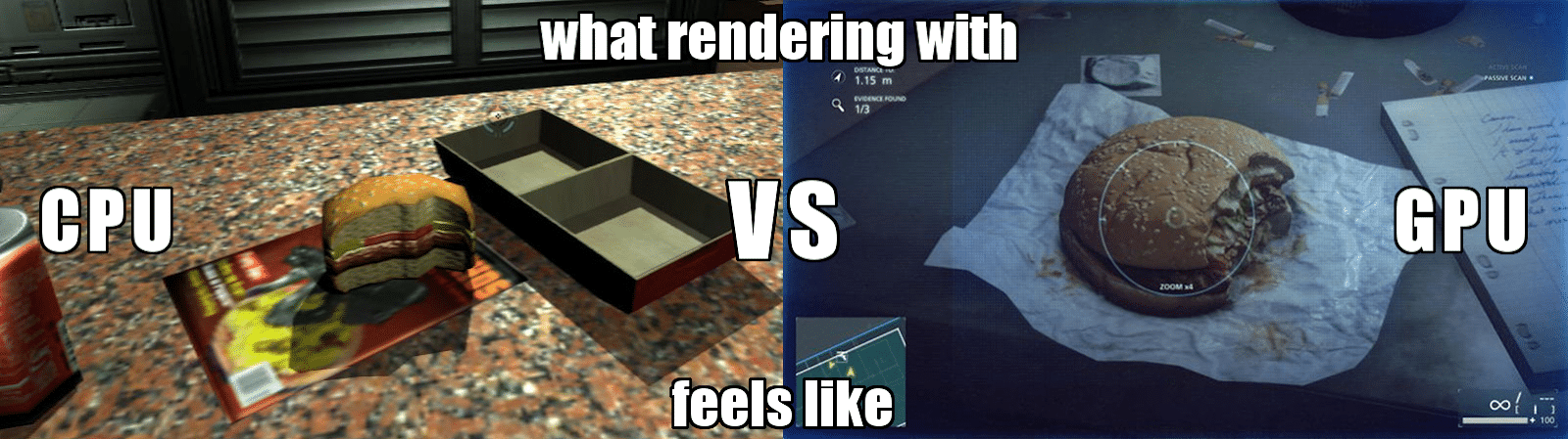 what-CPU-vs-GPU-rendering-feel-like 5 Situations in 3D Production Where GPU Power is a Must-Have